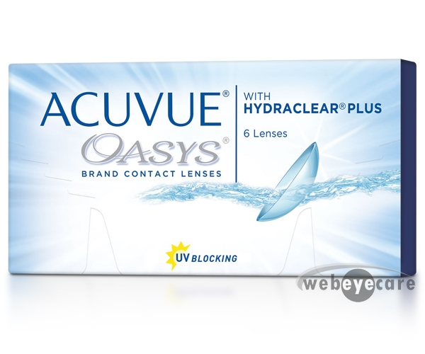 Acuvue Oasys Contact Lenses 6 Pack