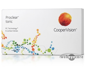 Proclear Toric, For Astigmatism, Contact lenses