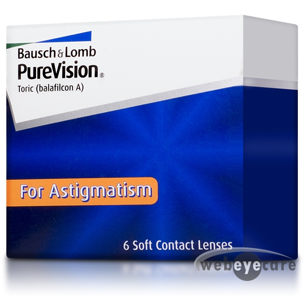 PureVision Toric, purevision monthly contact lenses, for astigmatism