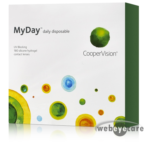 MyDay 180pk contact lenses