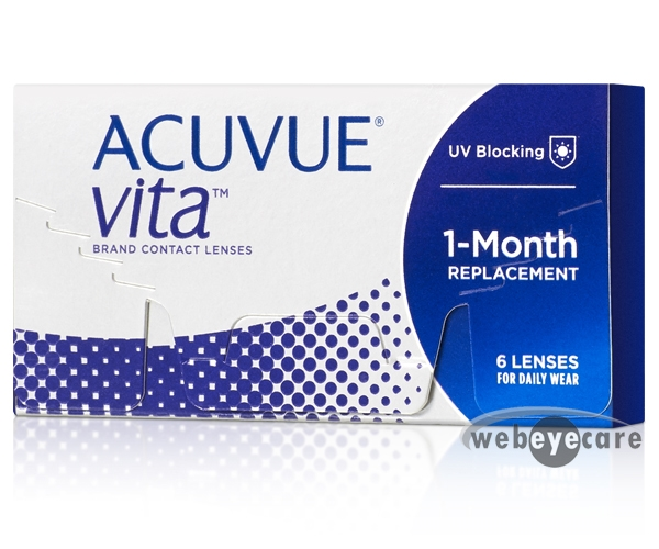 Acuvue Vita Contact Lenses 6 Pack