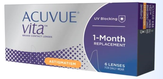 Acuvue Vita for Astigmatism Contact Lenses 6 Pack