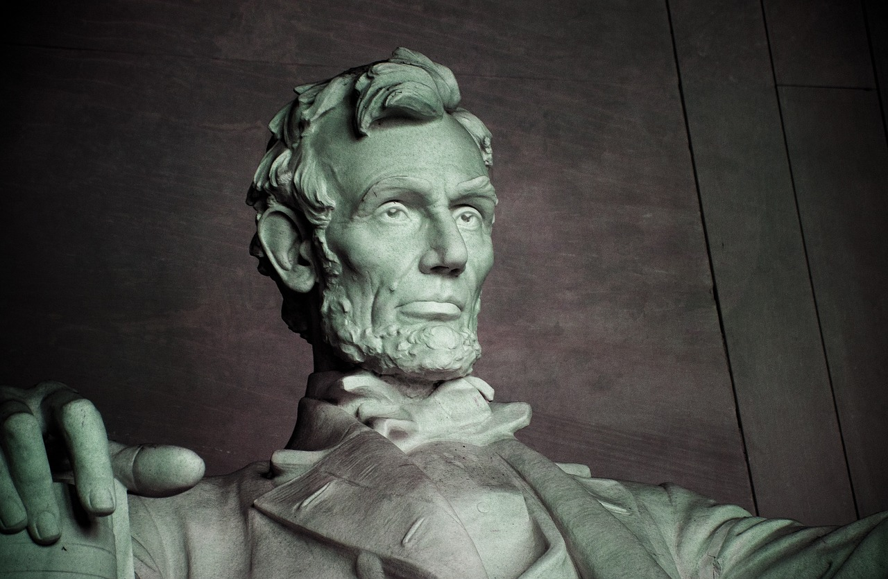 The Abraham Lincoln Memorial in Washington - President's Day Vision Impairments