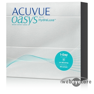 1-Day Acuvue Oasys Hydraluxe 90 pack