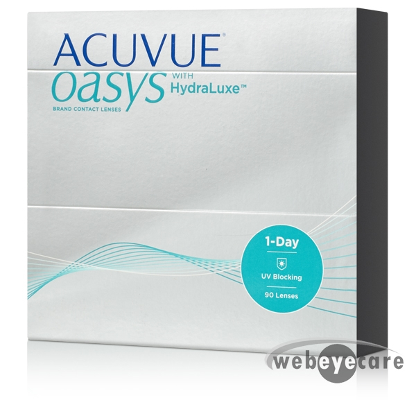 1-Day Acuvue Oasys HydraLuxe (90 pack)