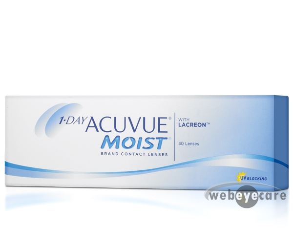 Acuvue 1-day, Acuvue moist, Acuvue Moist Contact lenses