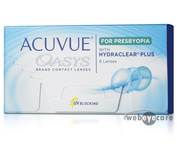 Acuvue Oasys Hydraclear Plus for Presbyopia