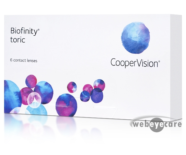 1c8d331a062 Biofinity Toric Contact Lenses (6 Pack)