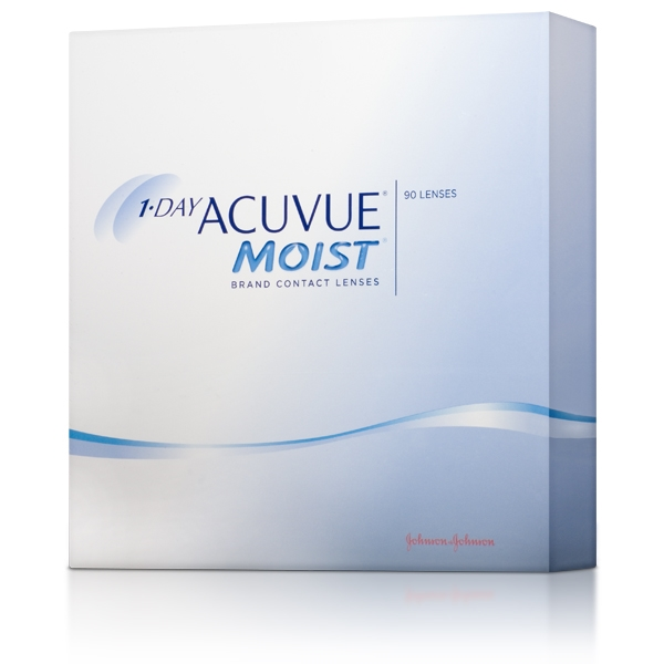 1 Day Acuvue Moist 90 Pack Webeyecare