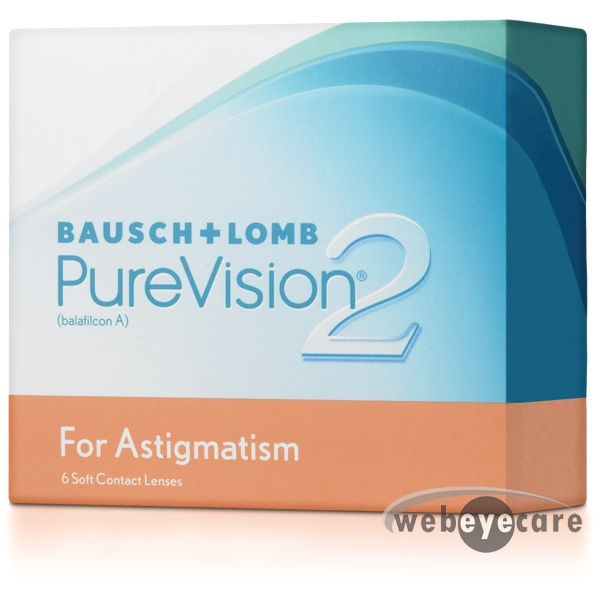 PureVision 2 for Astigmatism, purevision monthly contact lenses, for astigmatism