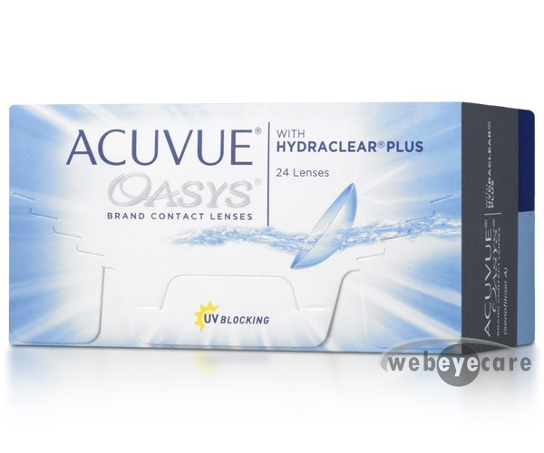 Acuvue Oasys 24 Pack at WebEyeCare