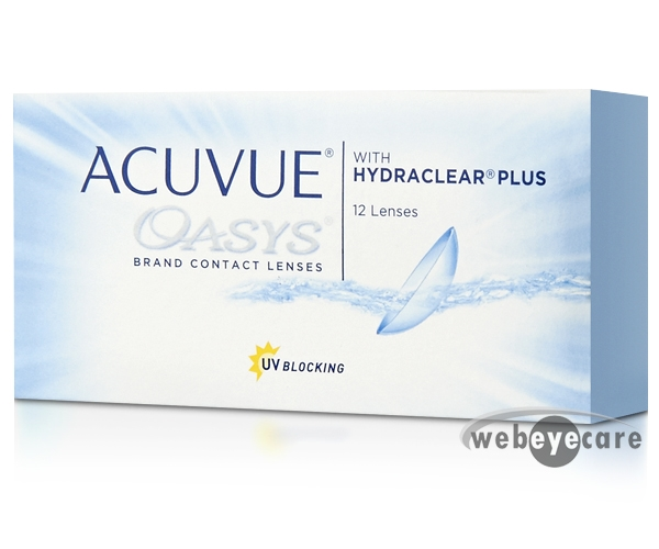 Acuvue Oasys with Hydraclear Plus (12 pack)