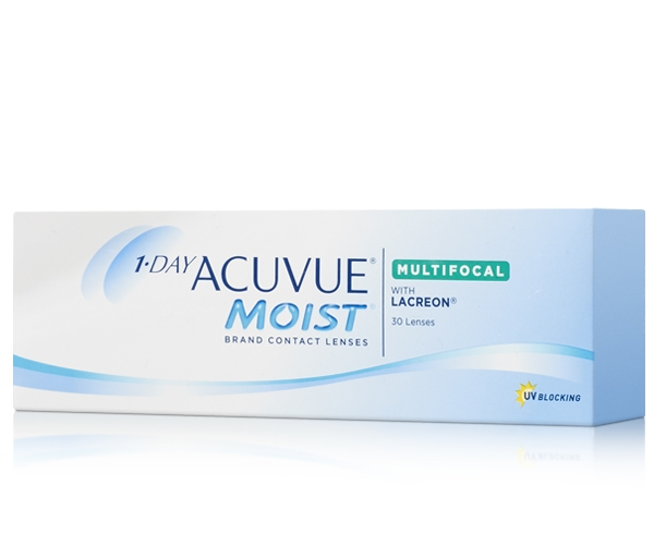 Acuvue 1-day Multifocal, Acuvue moist multifocal, Acuvue Moist Contact lenses