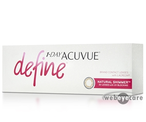 1-Day Acuvue Define 30 pk