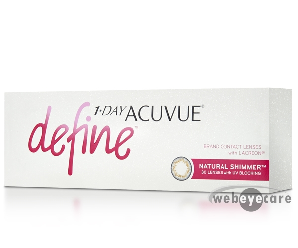 Acuvue 1-day, Acuvue Define t, Acuvue Define Contact lenses