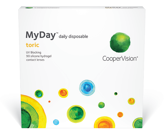 MyDay Toric 90pk contact lenses