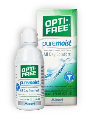 Opti-Free Puremoist Lens Solution