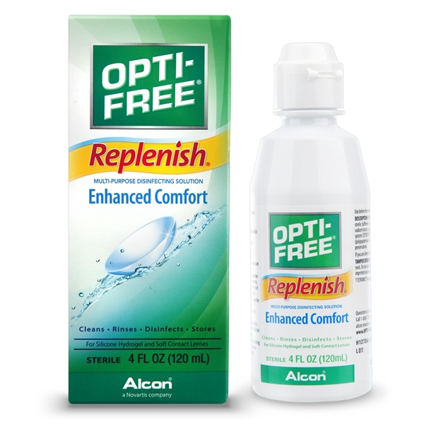 Opti-Free Replenish Lens Solution